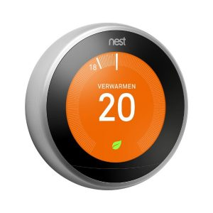 Nest Thermostaat zilver Eviot.nl
