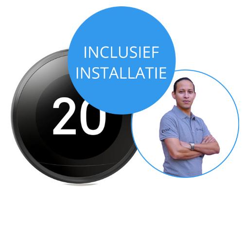 Nest thermostaat inclusief installatie. Ontdek & bestel op Eviot.nl
