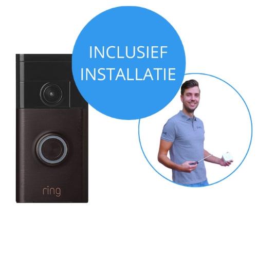 Ring Video Deurbel Inclusief installatie. Ontdek & bestel op Eviot.nl