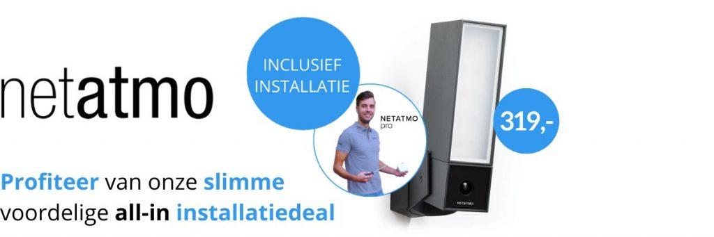 Netatmo Installatiedeal Eviot.nl